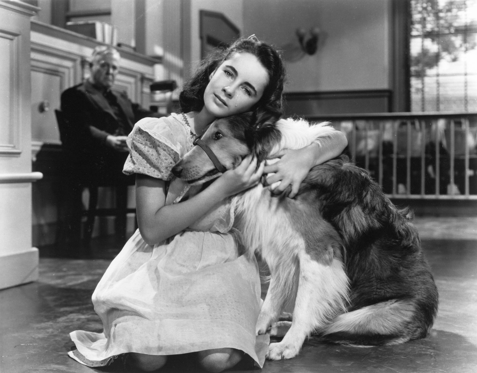 Lassie y Elizabeth Taylor